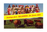 Greetings from Oklahoma Poster
