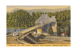 Bridge of the Gods, Cascade Locks Giclée-Premiumdruck