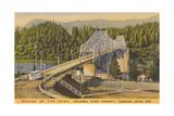 Bridge of the Gods, Cascade Locks Stampa giclée premium