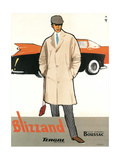 Blizzand Trench Coat Posters