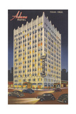 Adams Hotel, Tulsa Art