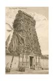 Pagoda, Pondicherry, India Prints