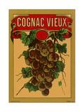 Cognac Vieux Label Print