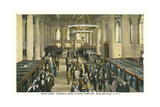 Lobby, Hibernia Bank and Trust, New Orleans Prints