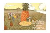 Hawaiian Canned Pineapple Ad Prints