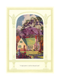 Quaint Cottage House Prints