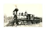 Vintage Locomotive Poster