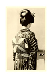 Geisha in Kimono Prints