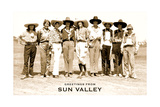 Greetings from Sun Valley, Cowgirls Poster