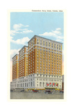 Commodore Perry Hotel, Toledo Print