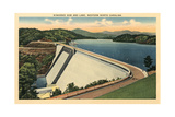 Hiwassee Dam, Western North Carolina Poster