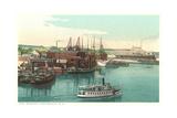 Coal Wharves, Portsmouth Prints