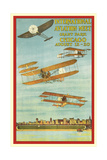 Vintage Air Show Poster Posters