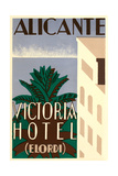 Victoria Hotel, Alicante, Spain Posters