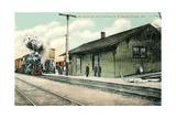 Railroad Depot, Sullivan, Missouri Posters