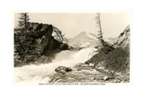 Swift Current Falls, Glacier Art