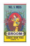 No. 5 Miss Broom Posters