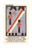 Trooping the Colour Poster Poster