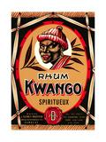 Rhum Kwango Label Posters