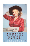 Cowgirl Power, Hailey Posters