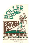 Ad for Roller Dome Posters