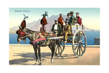 Sicilian Cart and Horse Prints