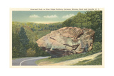 Nose-End Rock, Blue Ridge Parkway, Linville Posters