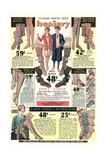 Twenties Clothes Catalog Posters