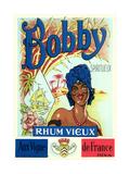 Bobby, Rhum Vieux Label Poster