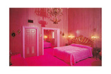 Hot Pink Fantasy Bedroom Posters