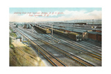 Syracuse Rail Yards Print
