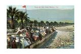 Vintage Plaza Del Mar Posters