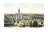 Jackson Square, New Orleans Kunstdruck