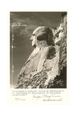 Borglum Quote and Mt. Rushmore Prints