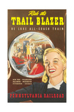 Ride the Trail Blazer Prints