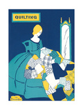 Quilting Poster Print