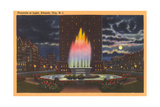 Fountain of Light, Atlantic City Prints