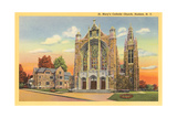 St. Mary's Catholic Church, Hudson Prints