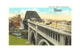 Bridge over Cuyahoga River, Cleveland Prints