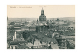 Overview of Old Dresden, Germany Print