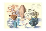 Various Ceramics Print