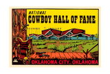 Cowboy Hall of Fame, Oklahoma City Poster