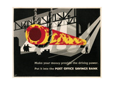 Poster for Post Office Savings Bank Poster
