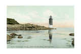 Winter Island Lighthouse, Salem Harbor Poster