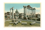 Temple of Saturn, Roman Forum Prints