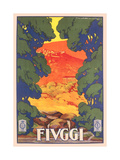 Travel Poster for Fiuggi Prints