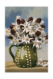 Flowers in Pottery Jug Posters