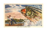 Fishing at Lake Coeur D'Alene Posters