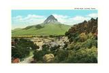Mitre Peak, Alpine Posters