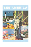 Travel Poster, See America Prints